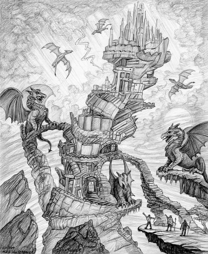 Dark Tower drawing!