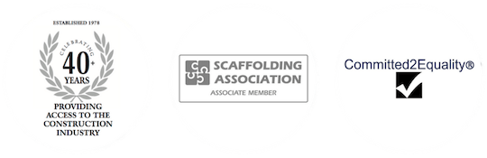 Mattison Scaffolding Accreditations