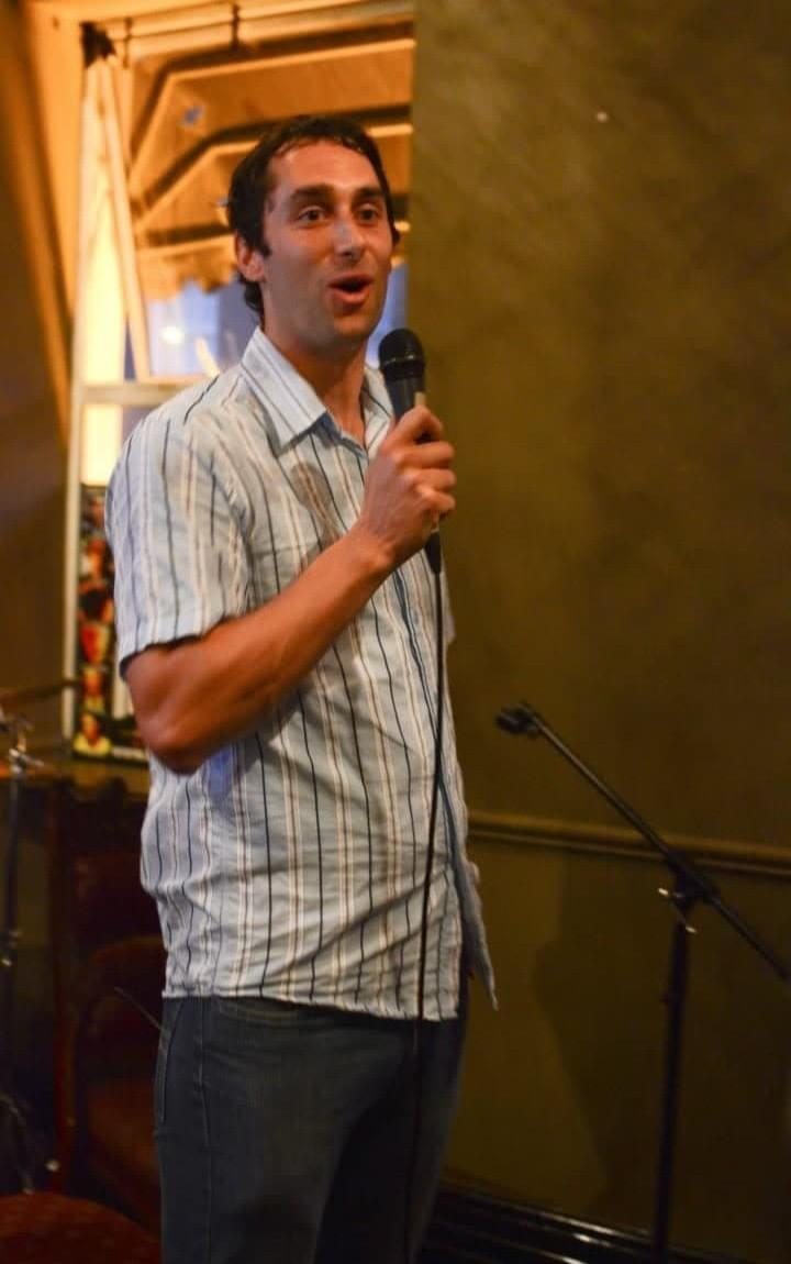 HOPE Founder, John Whelan, speaking at an event