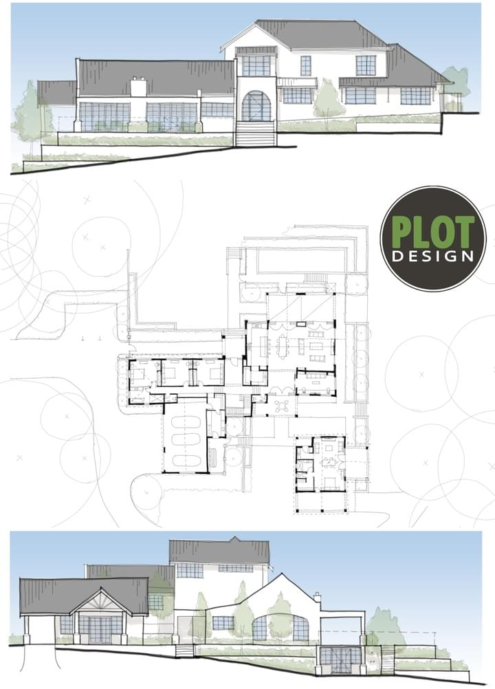 Plot Design : Building Design & Drafting Services : New Residence, Parkerville, WA, 6081Darlington Building Extension