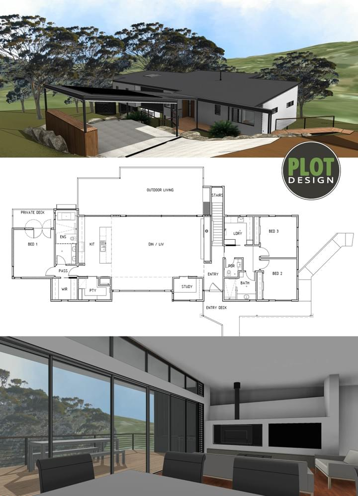 Plot Design : Building Design & Drafting Services : Darlington New Residence