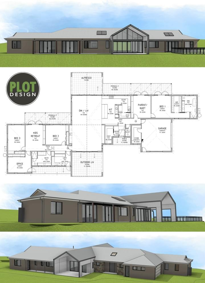 Plot Design : Building Design & Drafting Services : Darlington Building Extension