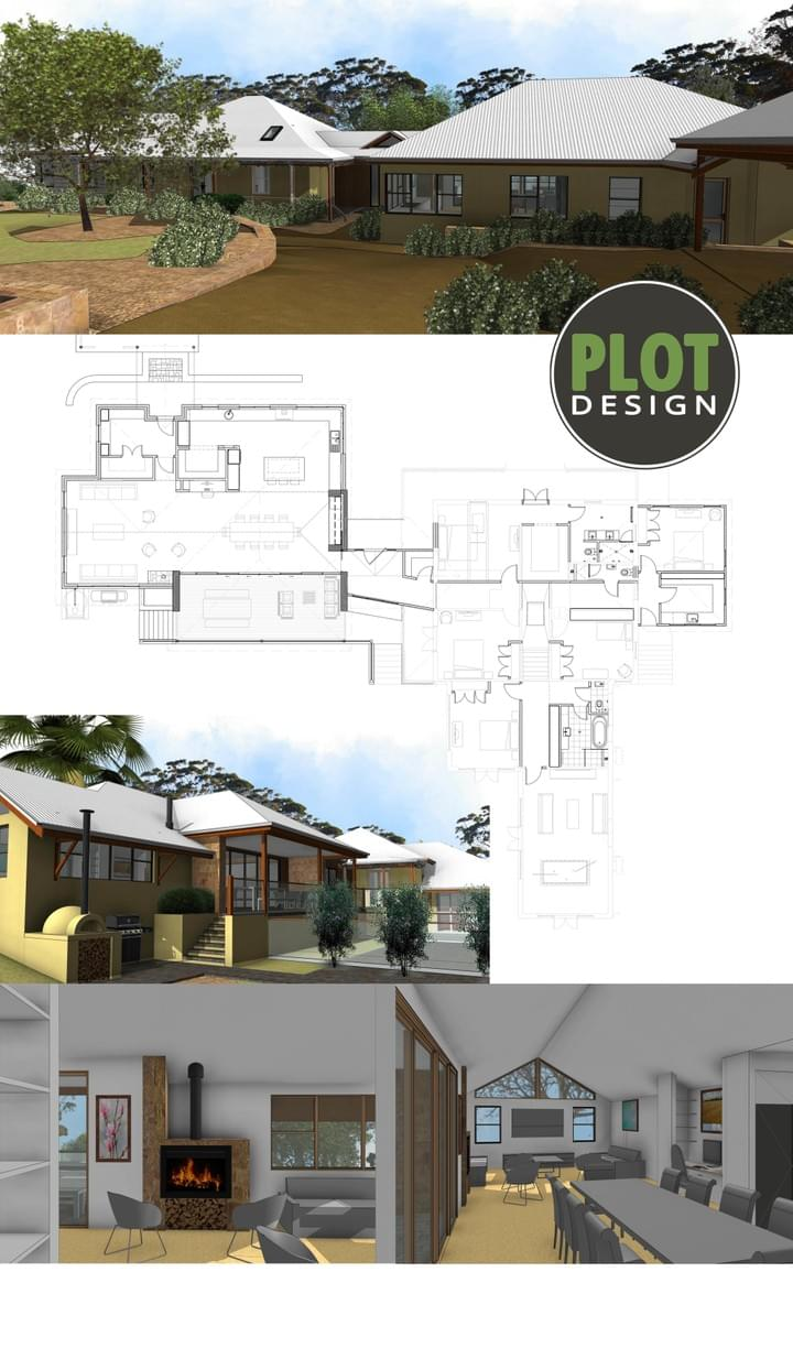 Plot Design : Building Design & Drafting Services : Darlington New Extension