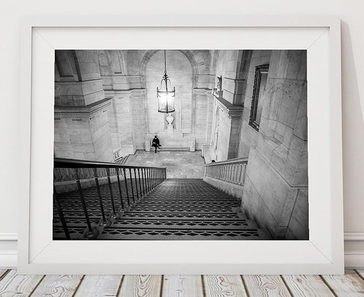 All alone in the New York Public Library – haeliophoto Madeline Bowser
