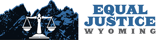 Equal Justice Wyoming logo