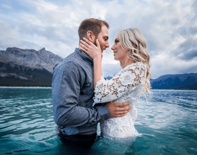 Timelapse Photography Sylvan Lake Wedding Photographer