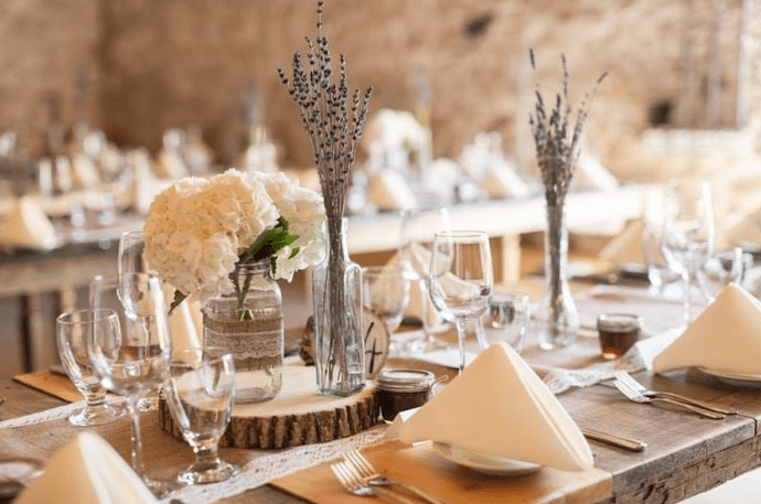 Sylvan Lake Wedding Decorations