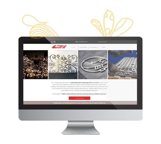refonte site web industrie