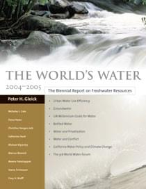 The World's Water. Vol. 4 (Island Press, Washington DC 2005)