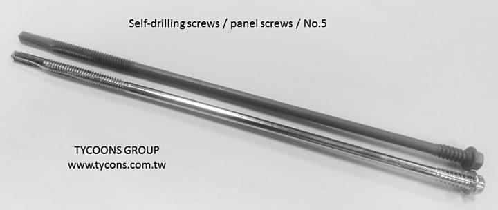 Sandwich panel screws 5# allow the user fix the construction easy and safety.
