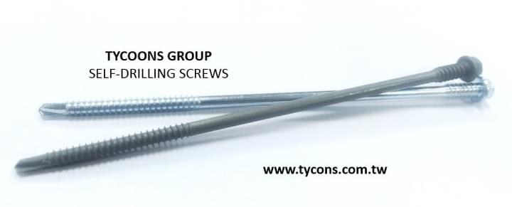 long screws size of self-drilling screws can help the roofing worker to fasten the material  directly.
