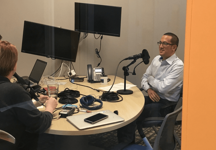Larry Yu's podcast interview about thought leadership.