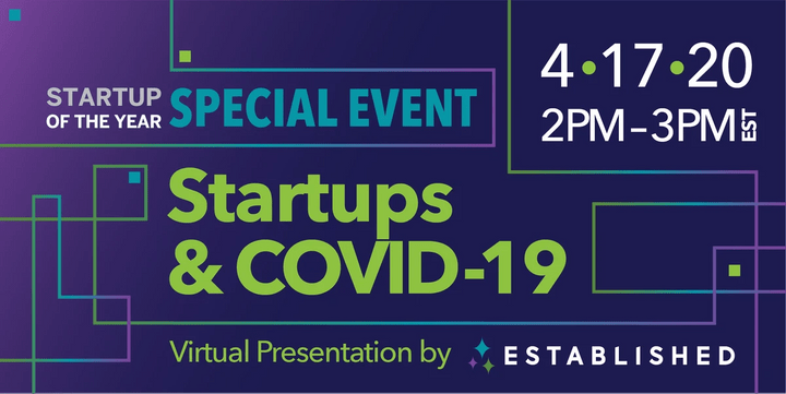 Startup of the Year Special Event: Startups & COVID-19