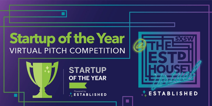 Startup of the Year SXSW 2020 Virtual Pitch Event