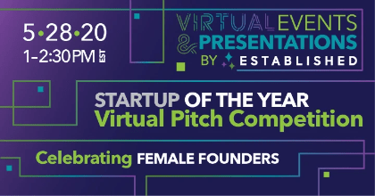 Startup of the Year Online  Female Founder Pitch Competition