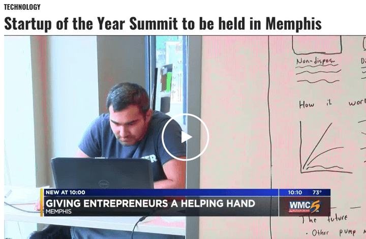 Entrepreneurs in Memphis at Startup of the Year Summit