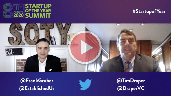 Startup of the Year Podcast with Tim Draper