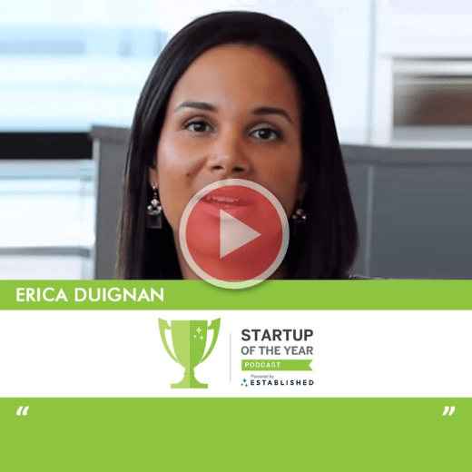 Startup of the Year Podcast with Erica Duignan 1000 Angels