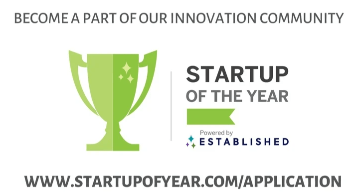 2021 Startup of the Year Application Is Open