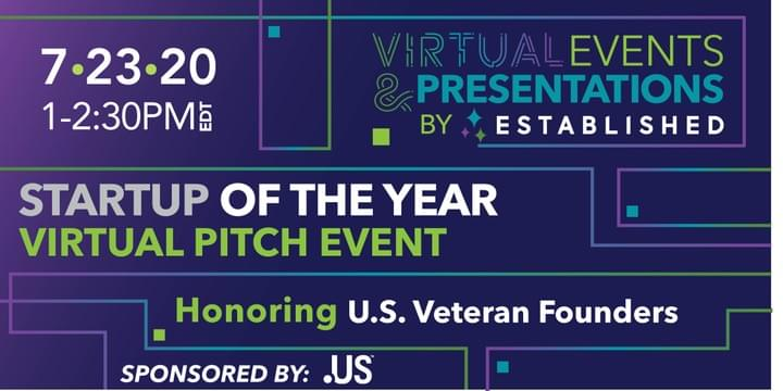 Startup of the Year Online Pitch Competition U.S. Veteran Founders