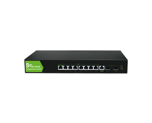 SH-328TBS 8*PoE+2SFP Solar Managed PoE Switch