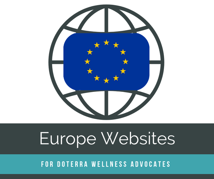 Europe doterra Wellness Advocate Websites