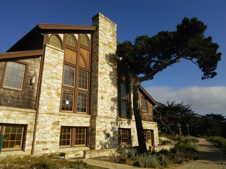 Merrill Hall at Asilomar Conference Grounds