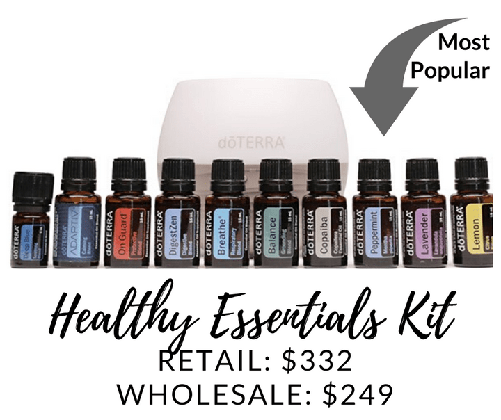doTERRA Oil Collctors Kit - begin your wellness journey with Living My Essential Life