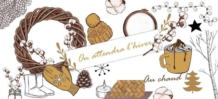 on attendra l'hiver- margaux creation - scrapbookin - planner