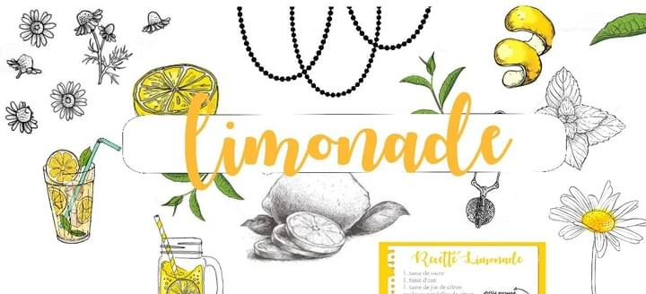 limonade margaux creation scrapbooking - boutique en ligne - Planner- papeterie