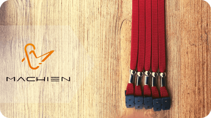 MACHIEN Inc.'s lanyards and ID card ropes