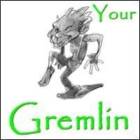 black and white sketch of stealthy gremlin by Timo Wuerz, Your Gremlin, Trainer Path, StartOver.xyz, Possibility Management