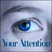 close up of woman's blue eye, Your Attention, Trainer Path, StartOver.xyz, Possibility Management