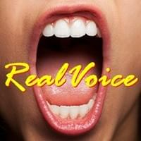 A mouth, wide open to let out their Real Voice