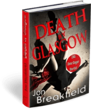 Death by Glasgow available on Amazon