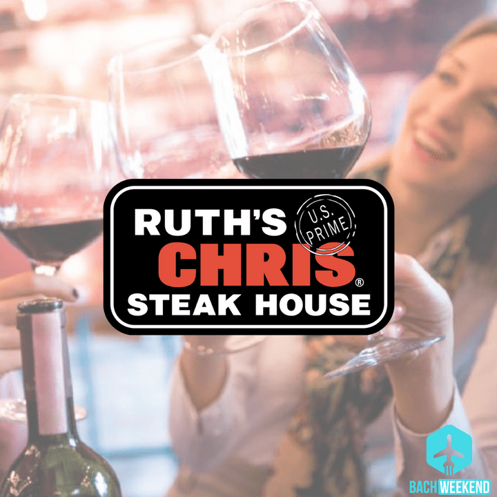 Filet and rosé, anyone? Known as one of the best steakhouse experiences with a wine list like no other, Ruth's Chris does the steak dinner right!