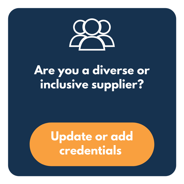 Are you a diverse or inclusive supplier?