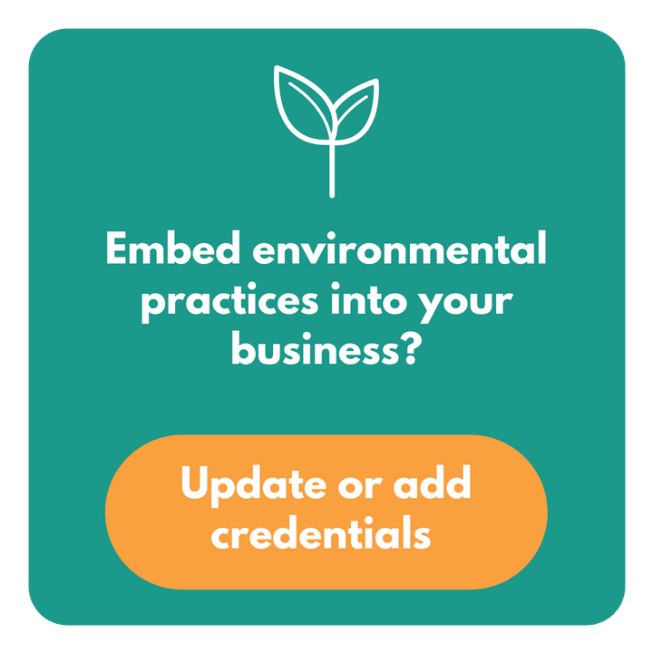 Embed environmental practices into your business?