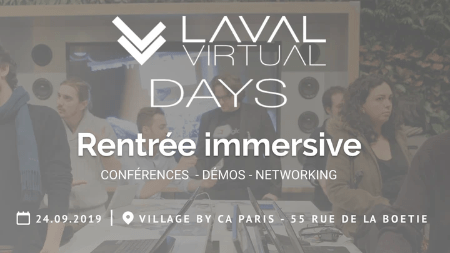 Laval virtual days, laval virtual, le village by ca paris, événement le village by ca paris