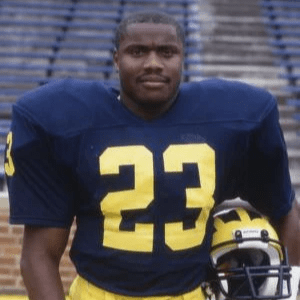 Michigan Football player Jamie Morris was a running back who broke the school's all-time records for rushing yards in a season and in a career and for all-purpose yards in a career.