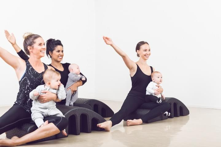 mums and bubs pilates classes launceston