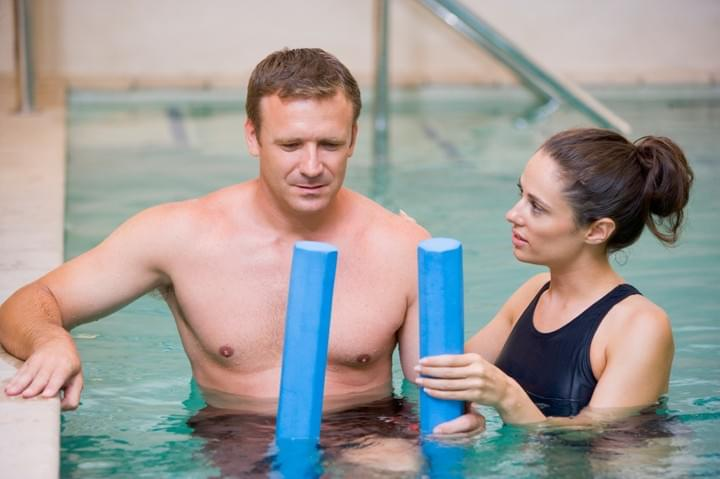 hydrotherapy at inbalance physio and piulates