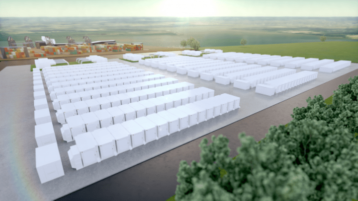 Fluence Gridstack System at InterGen Gateway, Europe's Largest Battery