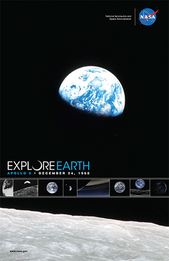 Nasa Poster explore earth