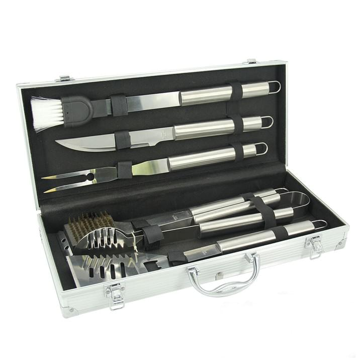 BBQ Tool Set with Aluminum Case