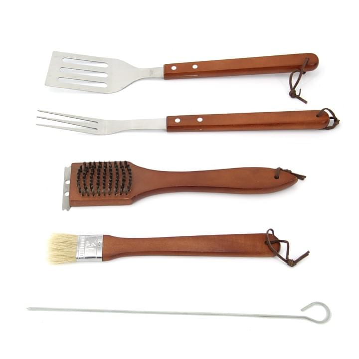 Wooden Handle Tool Set