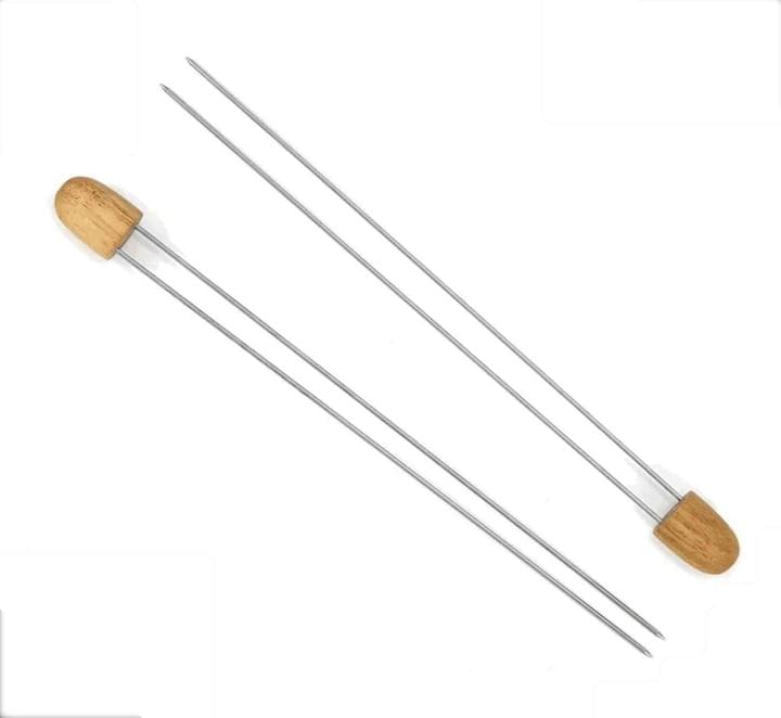 Double Prongs skewers