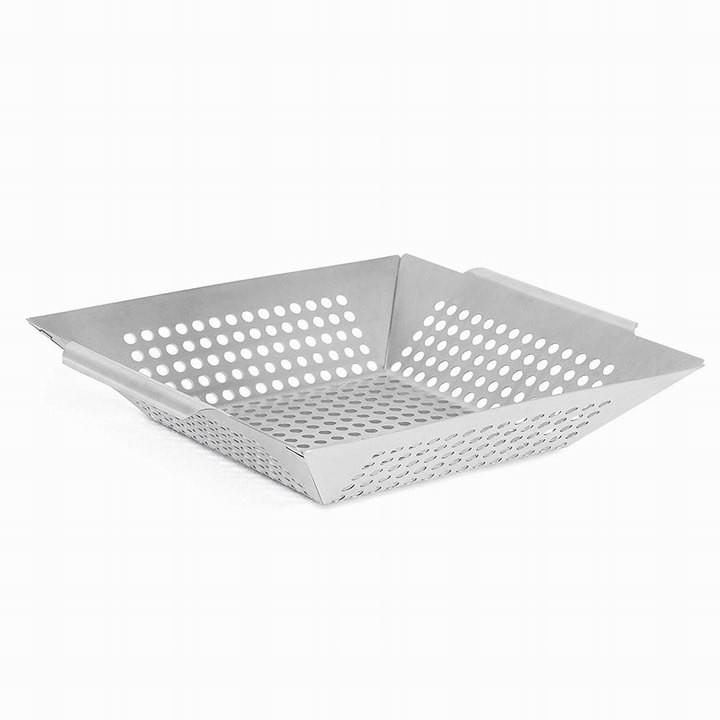 Square Vegetable Grill Basket Skillet