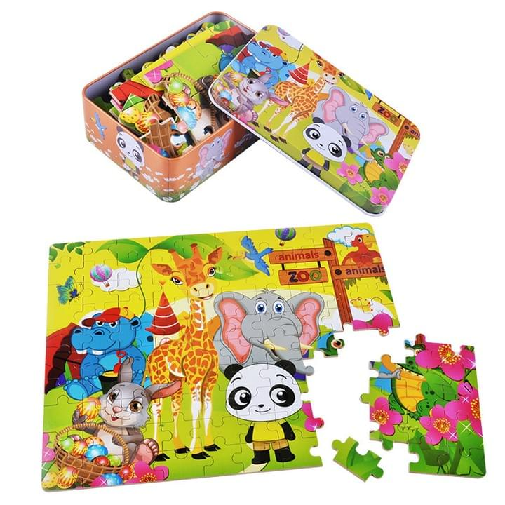 Customized Children jigsaw puzzle box sets