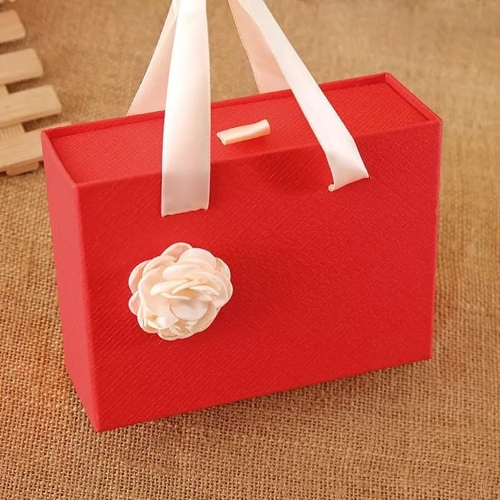 Drawer Box with ribbon handle